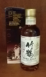 180ml of Nikka's Taketsuru Pure All Malt 17 (Whisky Lady)