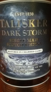 Up close with Talisker Dark Storm (Whisky Lady)