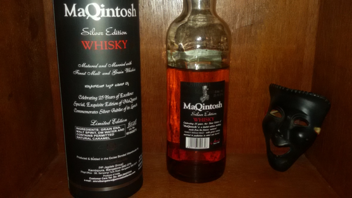 Party whisky - Amrut's MaQintosh