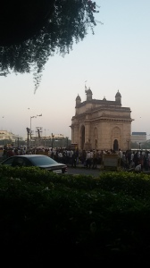 View of the Gateway of India from Taj Mahal Hotel