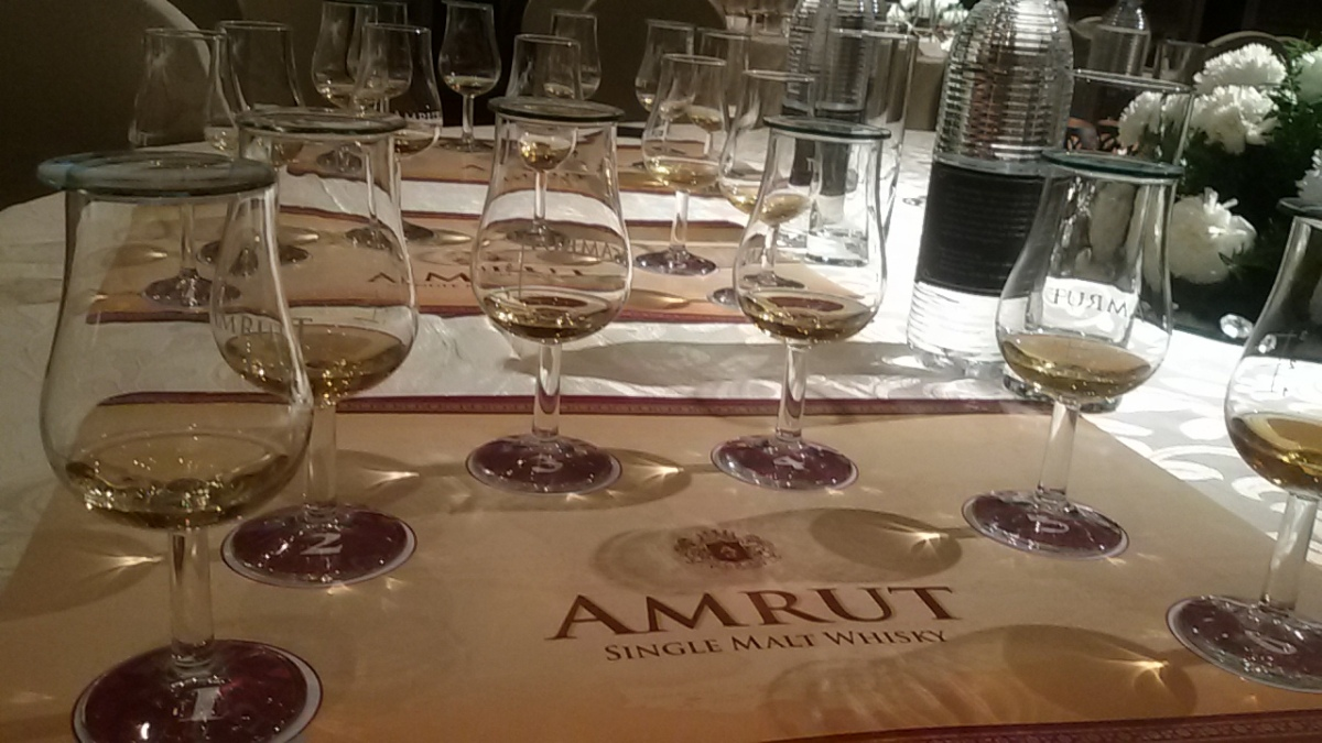 The Mumbai Amrut Jim Murray Experience