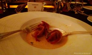 2nd course with Glenmorangie 18 year