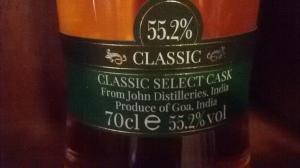 Paul John Classic label