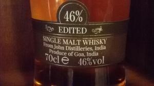 Edited label
