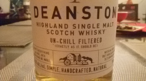 Deanston up close... (Whisky Lady)
