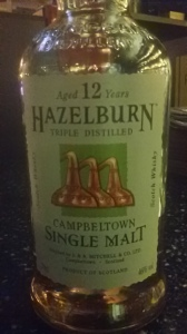 Hazelburn 12 year (Whisky Lady)