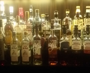 A bit of India at Quaich Bar, Singapore (Whisky Lady)