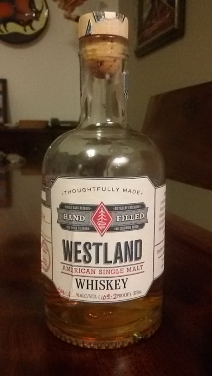 Westland Cask No 395 Hand Filled 54.6%