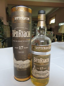 BenRiach 17 year (Whisky Lady's uncle)