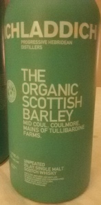 The Organic Scottish Barley (Whisky Lady)