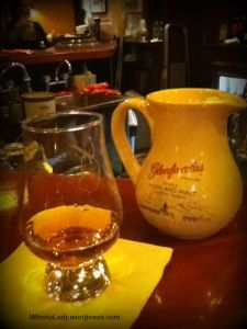 Sampling Glenfarclas in Hong Kong