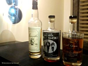 Compass Box Juveniles, Corsair Triple Smoke, Greenore 18 year