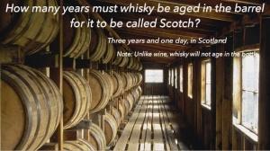 Whisky age trivia (Scotchfest 2015)
