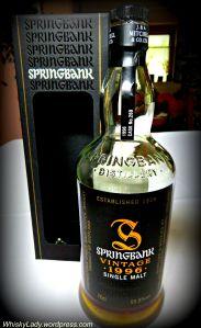 Springbank Vintage 1996