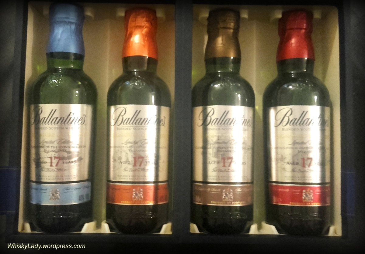 Ballantine's Signature Distillery Collection 17 year Scapa, Miltonduff, Glenburgie, Glentauchers