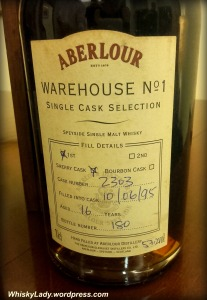 Hand filled Abelour 16 year