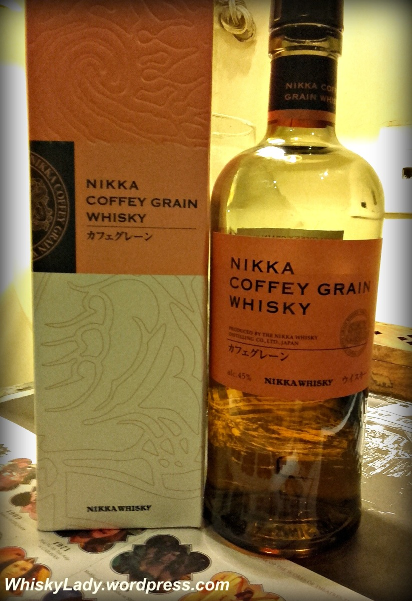 Piña colada whisky - Nikka Coffey Grain 45%