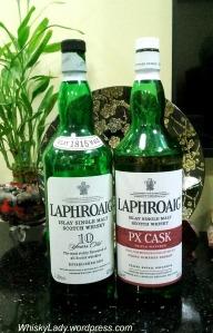 Laphroaig 10 vs PX