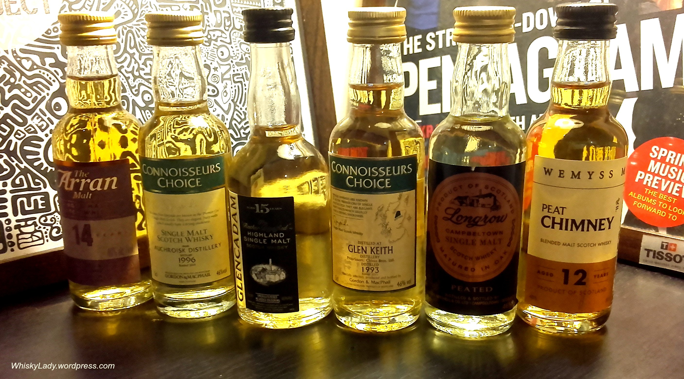 Whisky Exchange – Mini malts… | Whisky Lady