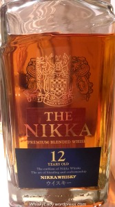 The Nikka 12 year up close