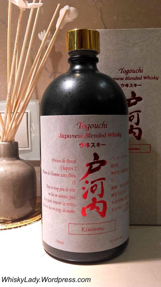 Sake whisky - Togouchi Kiwami 40%