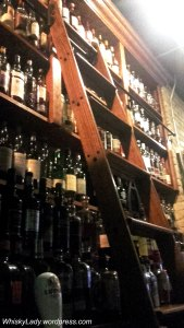 Winnipeg Whisky bar + ladder