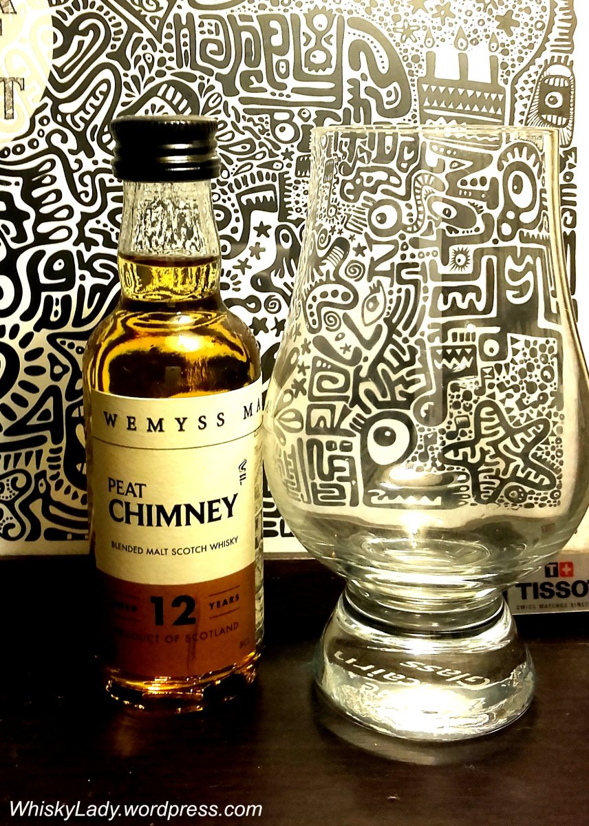A Salty Peaty Persuasion - Wemyss Peat Chimney 12 year 40%