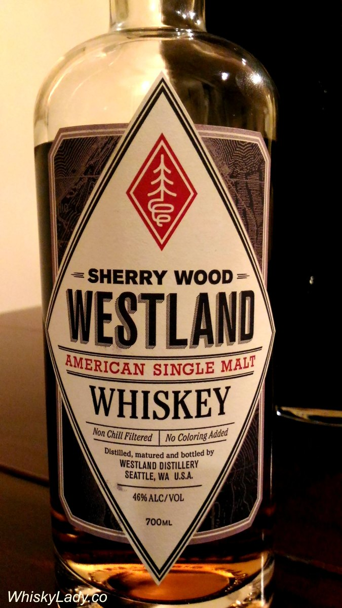 New World Classic - Westland Sherry Wood 46%