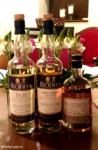 Berry's Islay, Speyside + Ghosted Reserve 21
