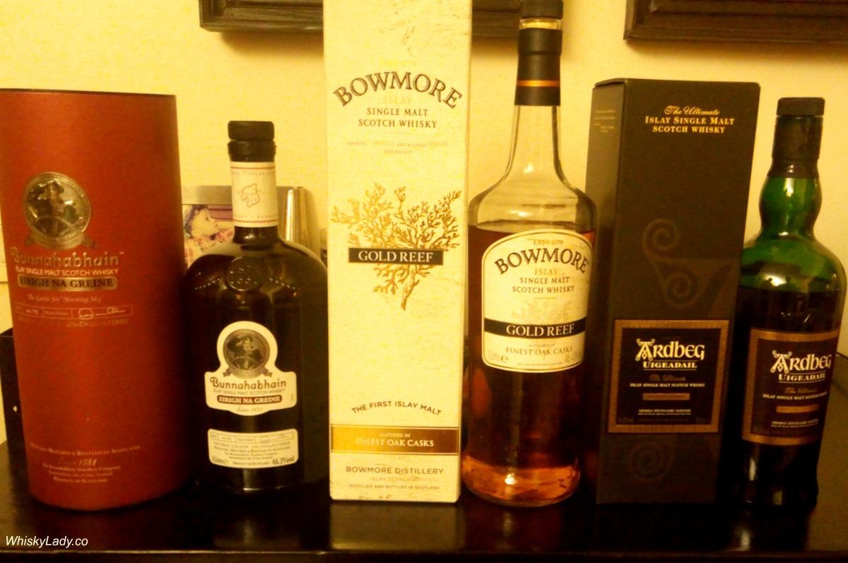Islay revisit - Bunnahabhain, Bowmore + Ardbeg
