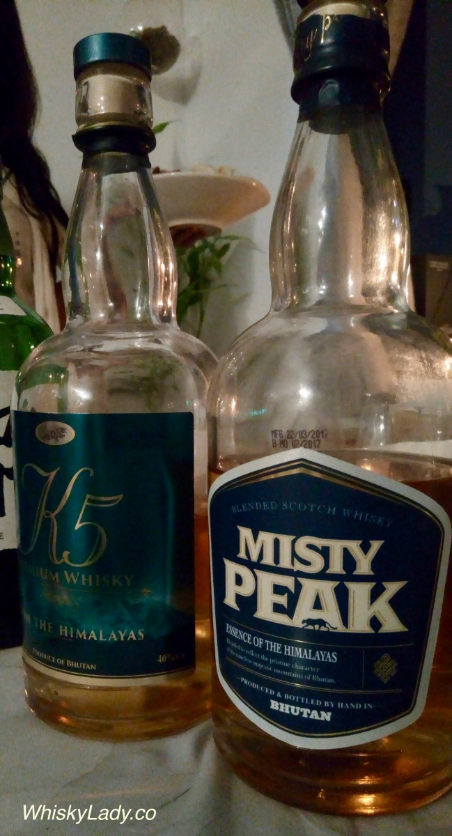 """Happy Whiskies"" Bhutan's K5 vs Misty Peak"