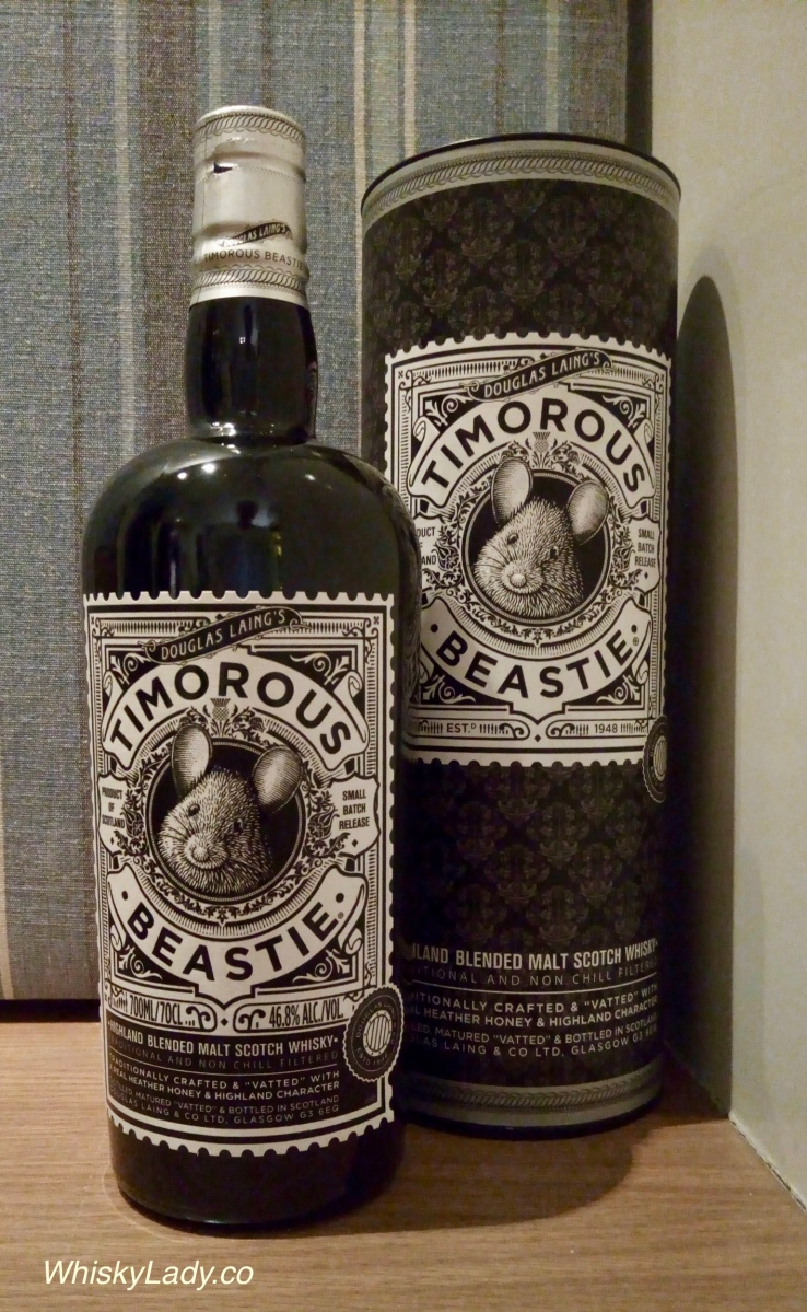 Douglas Laing's Highland Blend Timorous Beastie 46.8%