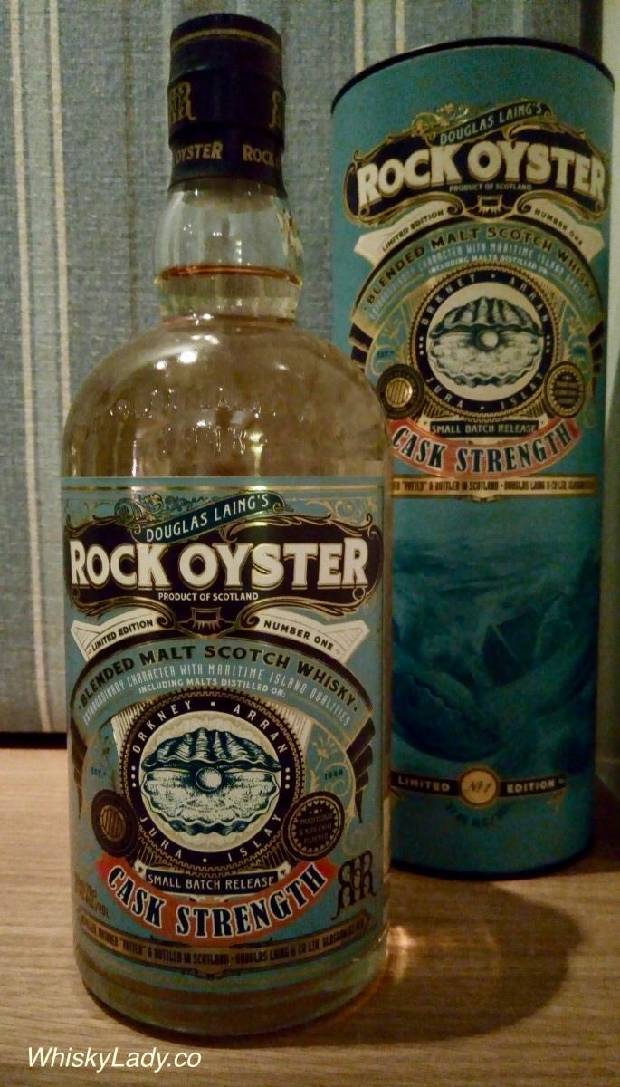 Douglas Laing's Island Blend Rock Oyster Cask Strength 57.4%