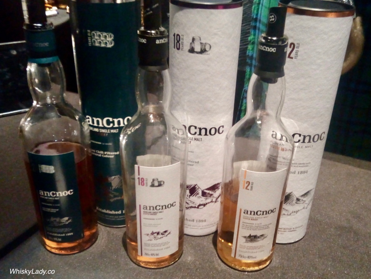 Whisky Live with Stuart Harvey - AnCnoc 12, 18 and 24