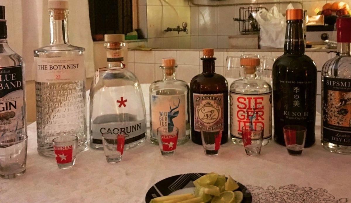 Impromptu Gin Delights