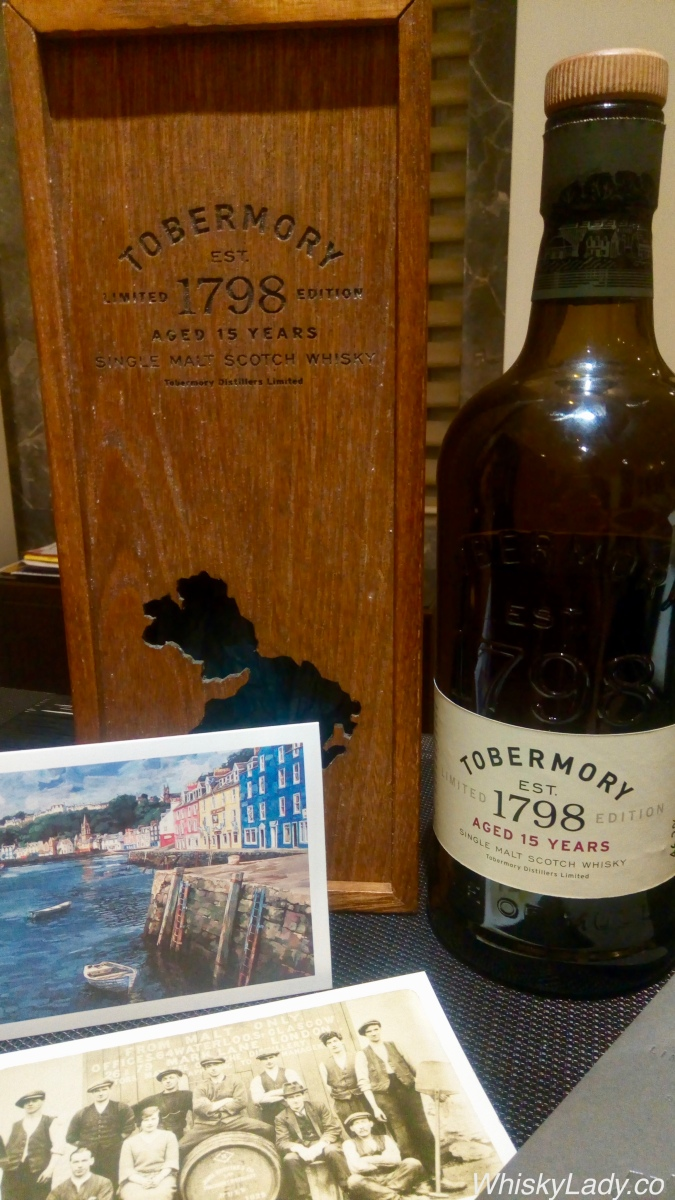 Sailing to the Isle of Mull - Tobermory 15 year 46.3%