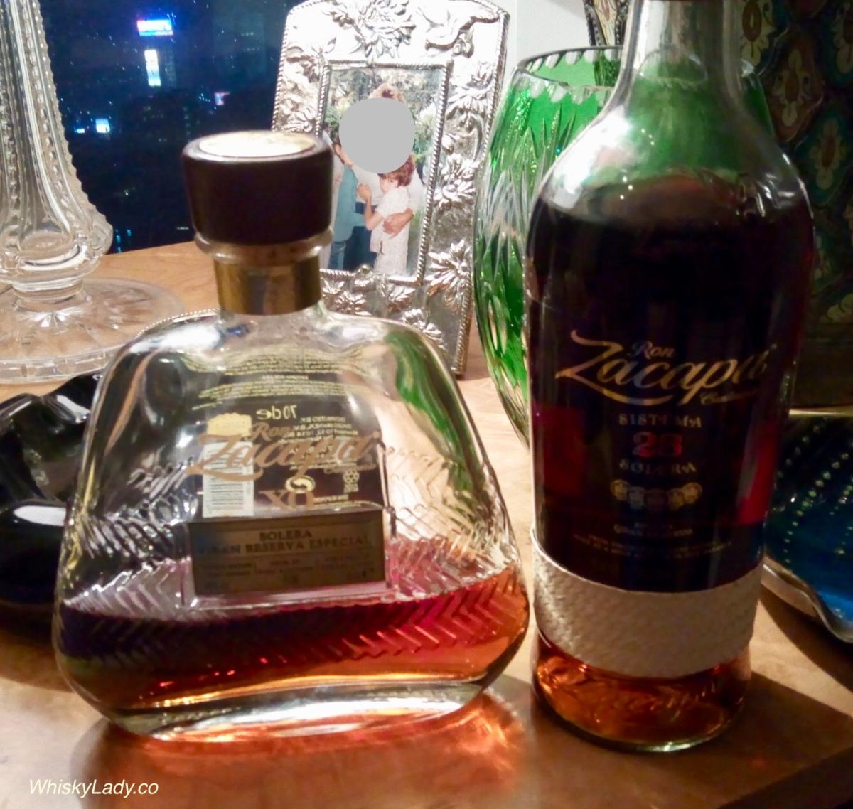 Guatemalan Rum - Zacapa 23 Solero 40% vs XO 40%