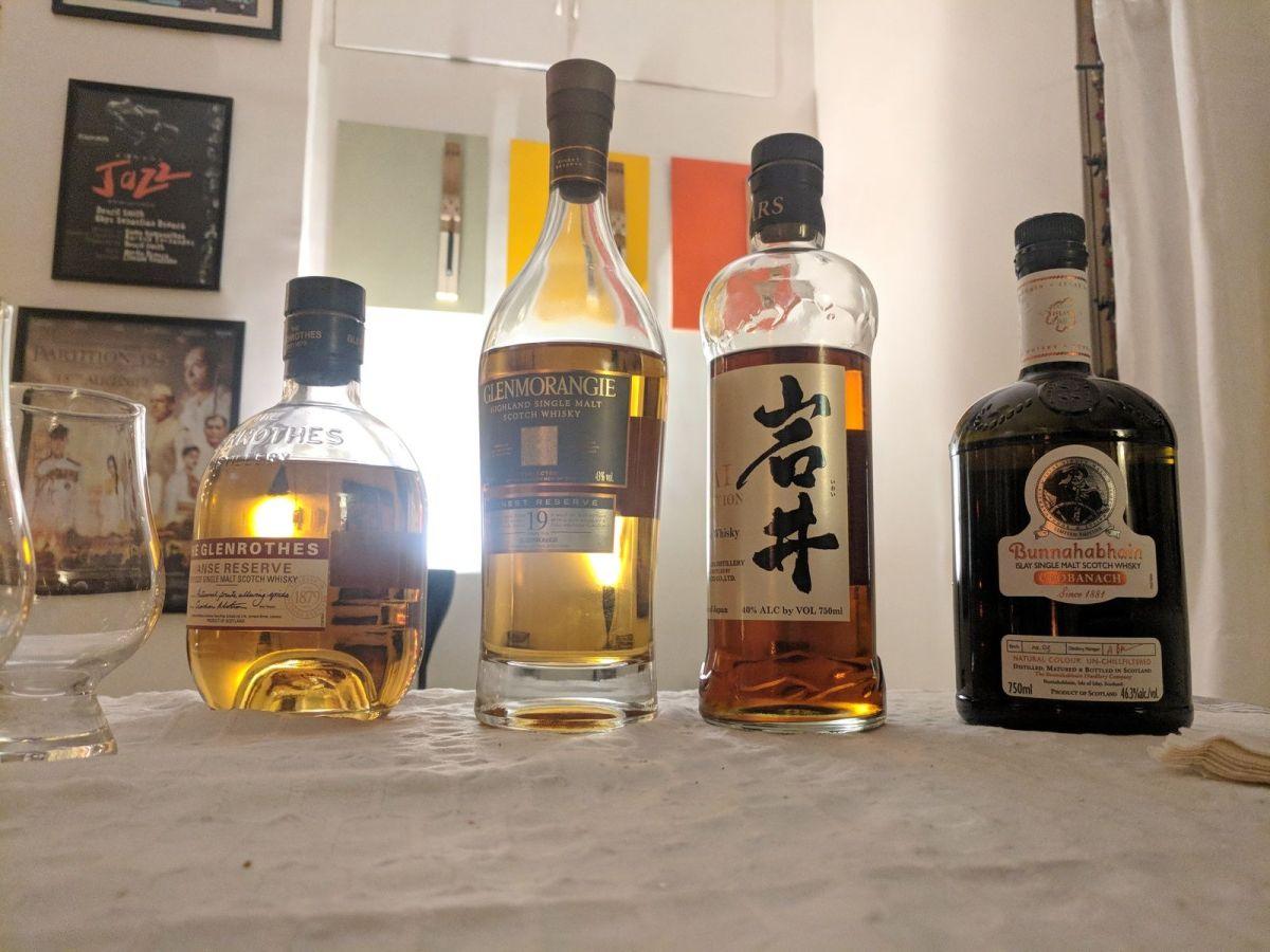 Whisky Ladies Contributor's Choice - Mars Iwai, Glenrothes, Glenmorangie, Bunnahabhain