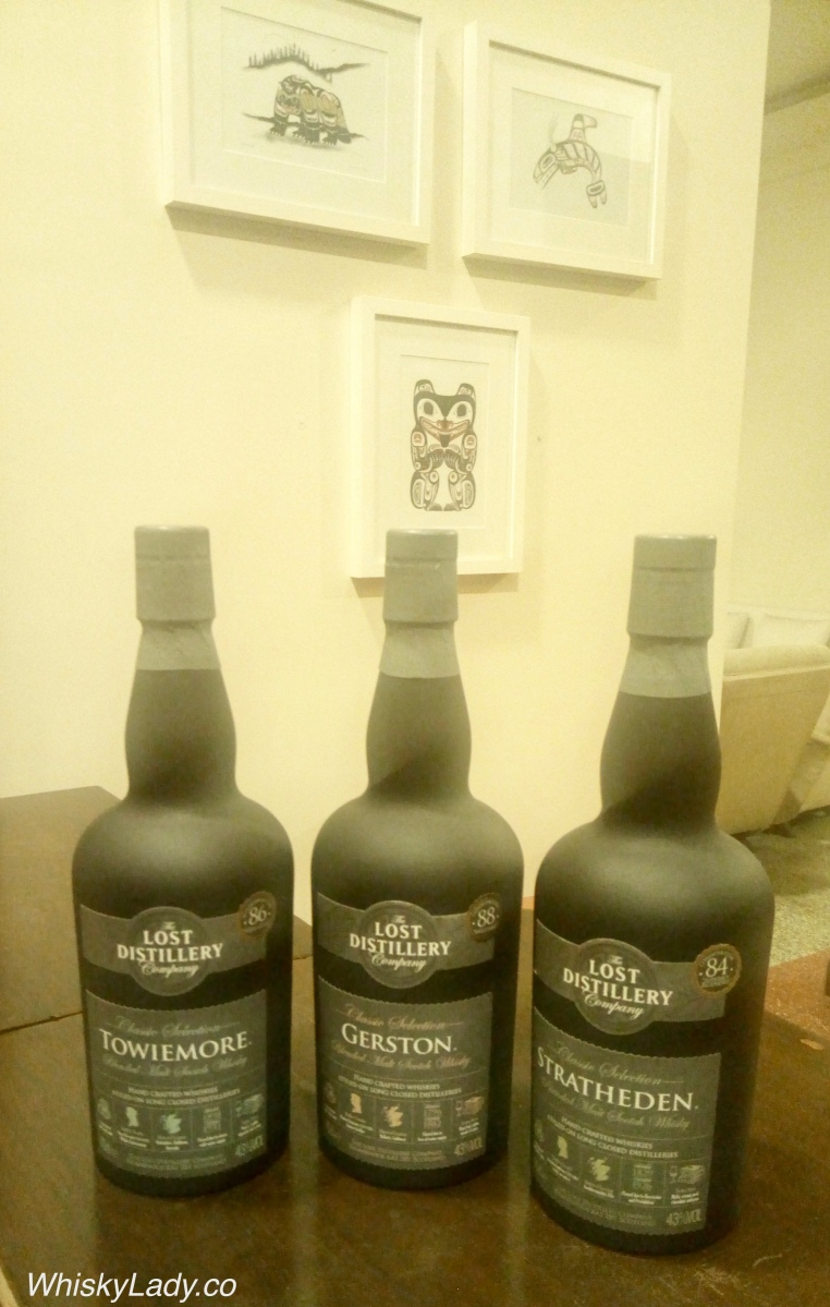 Lost Distillery Trio - Towiemore, Gerston, Stratheden