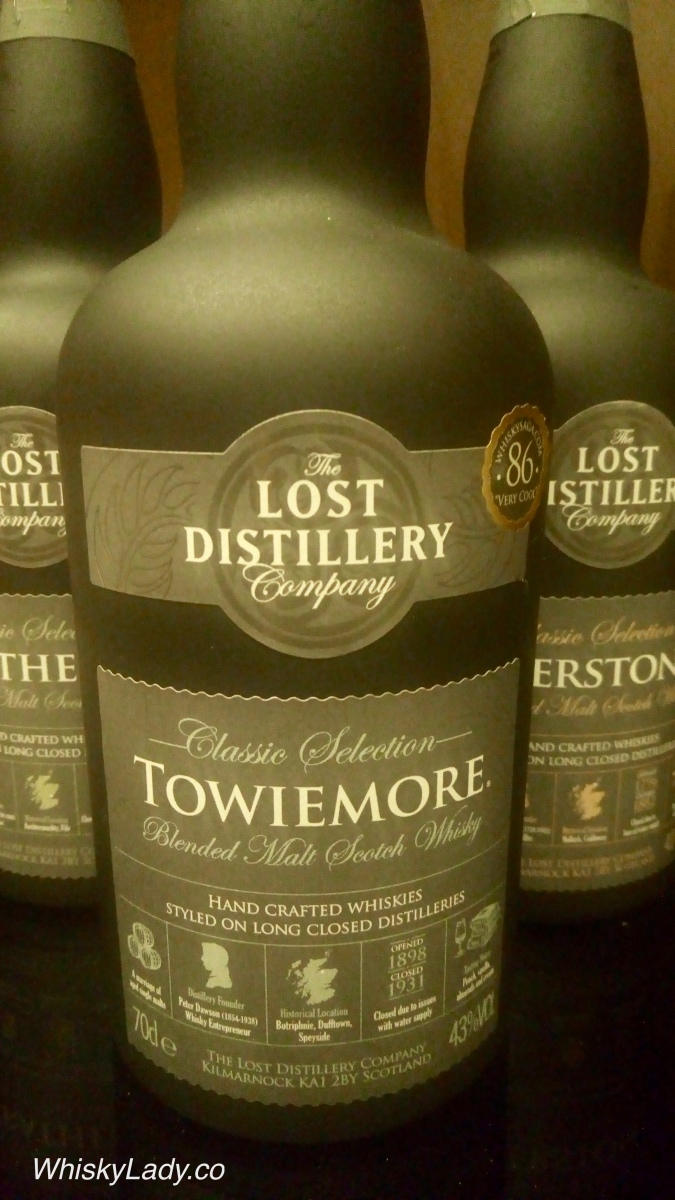 Lost Distillery - Towiemore Classic 43%