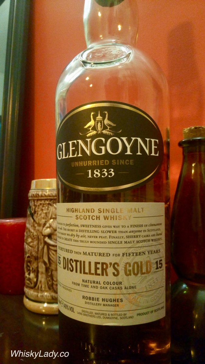 Glengoyne Distiller's Gold 15 year 40%