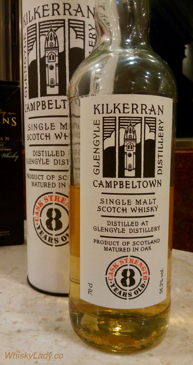 Kilkerran 8 year Cask Strength 56.2%