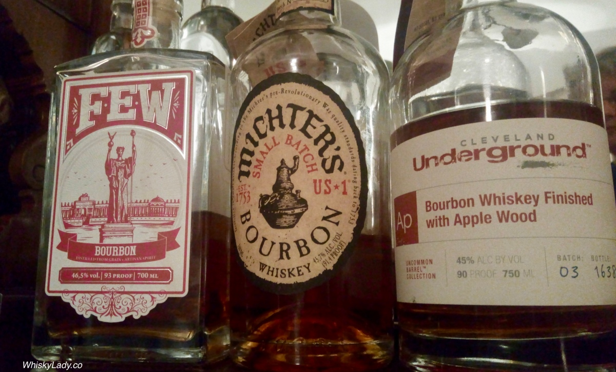 Bourbon Cocktail Hour with FEW, Mitcher's, Underground Apple