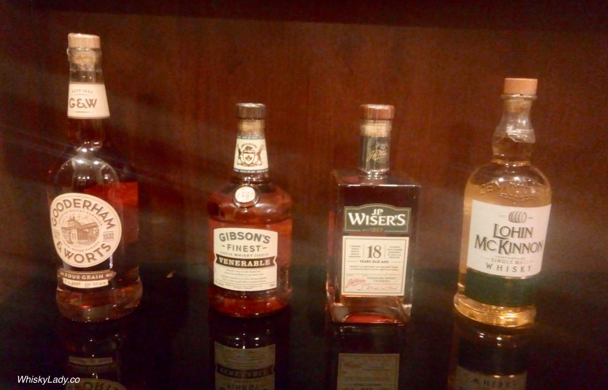 Bombay Canadian Club - G+W, Gibson's, JP Wiser's, Lohin McKinnon