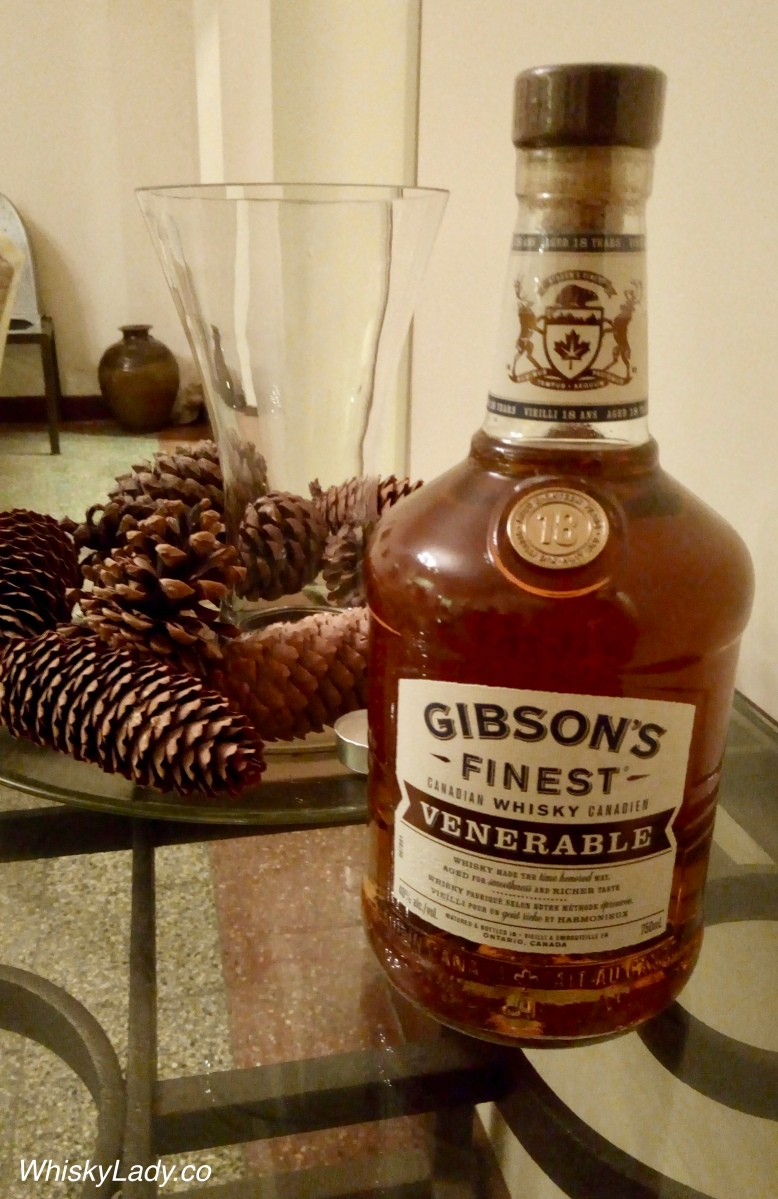 Bombay Canadian Club - Gibson's Finest Venerable 18 year 40%