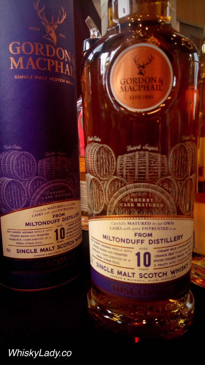 Gordon and MacPhail's Miltonduff 10 year 43%