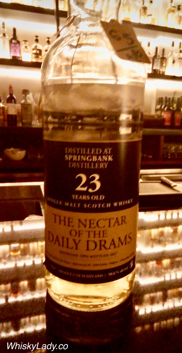 The Nector of the Daily Drams - Springbank 23 year 50.6%