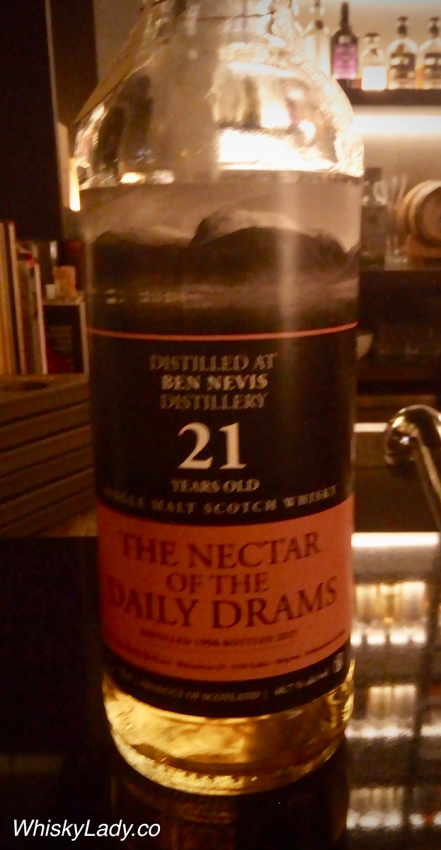 The Nector of the Daily Drams - Ben Nevis 21 year 48.7%