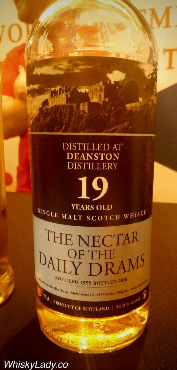 The Nector of the Daily Drams - Deanston 19 year 51%