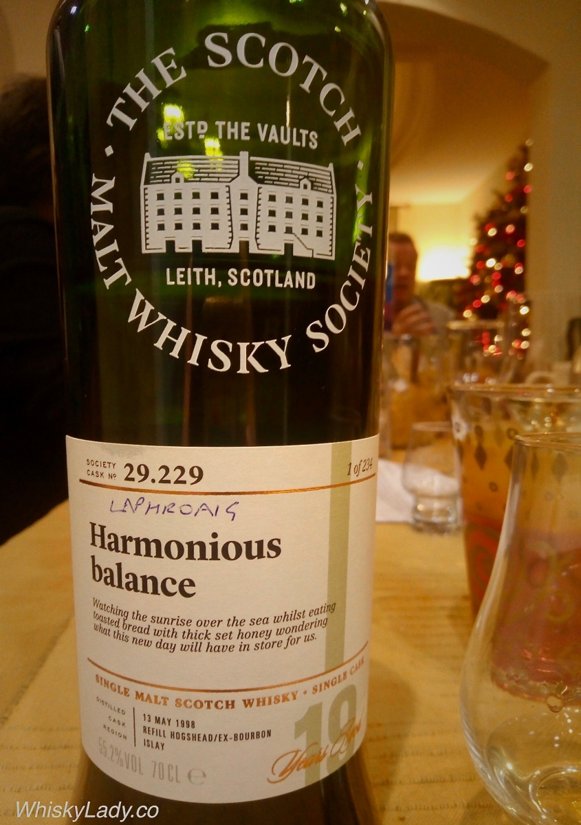 "Dubai Dream Drams - SMWS ""Harmonious Balance"" 19 year 55.2%"
